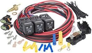 amazon com painless 30118 dual activation dual fan relay kit painless 30118 dual activation dual fan relay kit