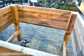 build a raised garden bed. Elevated Raised Garden Beds Plans How To Build An Gard On Bed Tutorials A O