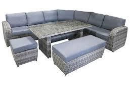 genova 7pce modular corner lounge