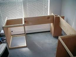 free corner computer desk woodworking plans build