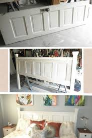 Five Panel Door Headboard Best 25 Old Door Headboards Ideas Only On Pinterest Door