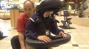 massage chair in mall. massage chair in mall m