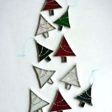 stained glass ornaments ornament tree decorations sets kits