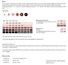 Hm Size Chart The Most Helpful Guide Ive Found For Bra Sizing Source