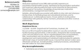 Sample Registered Nurse Resume Example | Resume Templates