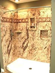 solid surface panels shower walls large size of textured brick wall corian cost shower walls