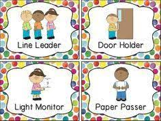 Classroom Job Chart Printable Free Image Result For Free Printable Preschool Job Chart Pictures