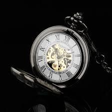 pacifistor pocket watch picture more detailed picture about pacifistor pocket watches steampunk wind up vintage pocket watch for men relojes 2017 gift mechanical skeleton