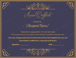 Award Of Excellence Certificate Template 100 Images of Professional Award Certificate Template leseriail 95
