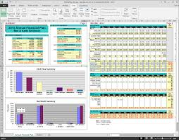 How To Plan A Personal Budget Annual Financial Plan Spreadsheet Template Myrealplan Com Planning