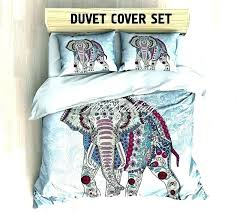 decoration elephant bedding twin set bohemian queen king full duvet cover bedspread lavender purple bed size comforter set bedding elephant