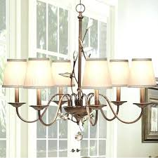 chandelier fabric shades with replacement