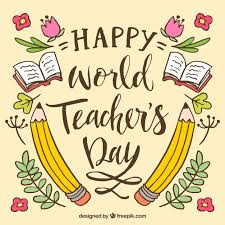 Happy Teachers Day Chart Happy Teachers Day Vector Free Download