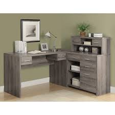 wood home office desks small. Impressive Plain Wood Home Office Desks Small Wooden Desk And Decor On L Shape