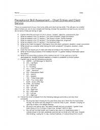 Resume Objective Examples For Dental Receptionist Spa A Of Y Peppapp