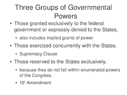 federalism and separation of powers review
