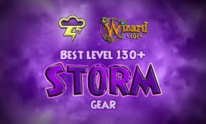 Best Storm Gear Level 130 Wizard101 Swordrolls Blog