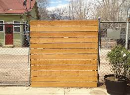 diy privacy fence 2