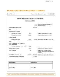Bank Reconcilation Free Bank Reconciliation Template