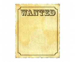 wanted photoshop template wanted sign poster free help template funny