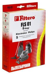 Купить <b>Filtero Мешки</b>-<b>пылесборники FLS 01</b> Standard 5 шт. по ...
