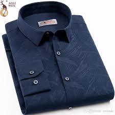 <b>2019 Aoliwen</b> 2018 <b>Men'S</b> Business <b>Print</b> Shirt Brand Man Blouse ...