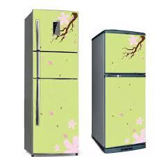 HCM]Decal dán tủ lạnh 3 ngăn
