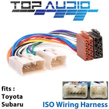 toyota iso wiring harness stereo radio plug lead wire loom 1975 1980 Toyota Celica Wiring Harness toyota iso wiring harness stereo radio plug lead wire loom connector adaptor ebay 1974 Toyota Celica