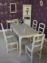 shabby chic dining sets. Classic Casamore Devon Rectangular Dining Table And 6 Chairs In French Inspired Shabby Chic Style Sets