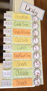 Timetable Chart Ideas Creative Ideas For School Time Table Chart