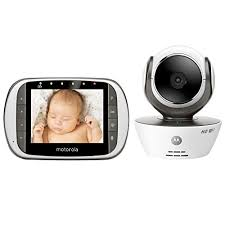 Motorola MBP853CONNECT Digital Video Baby Monitor with Wi-Fi ...