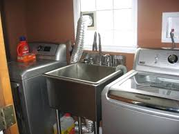 stainless laundry sinks griffin utility sink griffin x utility sink stainless steel laundry room sink with cabinet