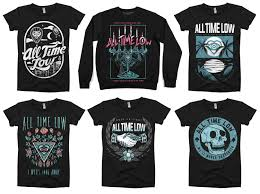 All Time Low T Shirt Design All Time Low X Mchc Mike Cortada Design Artwork