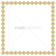 simple frame border design. Simple Pattern Frame Border Vector Graphic Design