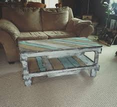 rustic coffee table from pallets 101 for the throughout how