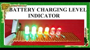 Charging Battery Light Simple Battery Charge Indicator Battery Charging Level Indicator By Innovative Ideas