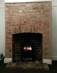 restoring brick fireplace restoring brick fireplace clean red brick fireplace