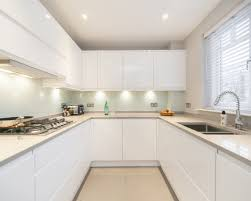 white modern kitchen. White Modern Kitchen T