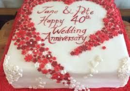 Simple Wedding Anniversary Cakes 1st Anniversary Cake The Bake