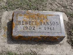 Barbara Myrtle Hanson (1902-1961) - Find A Grave Memorial