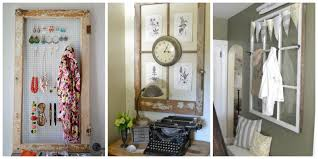 Decorate With Old Windows Old Window Frames Easy Craft Ideas