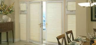 glass door window covering ideas