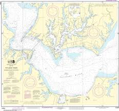 Noaa Nautical Chart 12284 Patuxent River Solomons Lsland And Vicinity