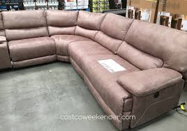 costco leather sectional sofa 7 piece sectional sofa costco costco sectionals