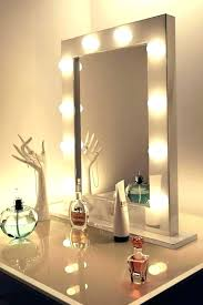 table mirrors with lights beauty dressing table with mirror ikea malaysia