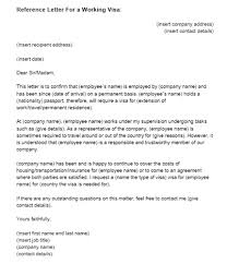reference letter from employer visa sponsorship letter letter of reference for a visa reference