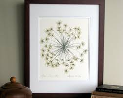 pressed fern wall art