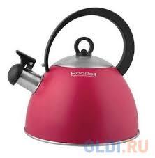 <b>Чайник Rondell RDS</b>-<b>361</b> 2 л нержавеющая сталь красный <b>Geste</b> ...