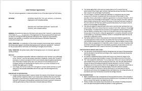 Examine the scope and purpose of your joint. Sample Joint Venture Agreement Archives Microsoft Word Templates
