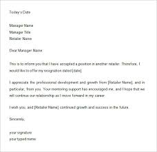 One Weeks Notice Letter 33 Two Weeks Notice Letter Templates Pdf Doc Free Premium